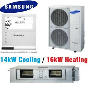 SAMSUNG DUCTED AIR CONDITIONER 14kW / 16kW AC140HBHFKH Indoor and Outdoor units