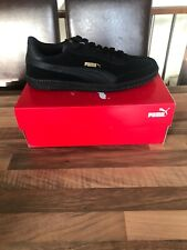 Brand New Puma Black Astro Cup - Triple Black - UK 9 / EU 43