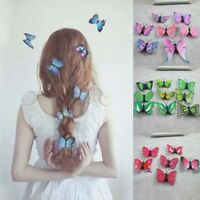 5Pcs Schmetterling Braut Haarspangen Hochzeit Fotografie Kostüm Haar-Zubehör