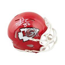 Travis Kelce Autographed Kansas City Chiefs Speed Mini Football Helmet - PSA/DNA