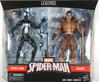 Marvel Legends ~ SYMBIOTE SPIDER-MAN vs. KRAVEN EXCLUSIVE FIGURE SET ~ Hasbro