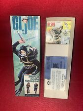VINTAGE GI JOE ACTION SAILOR BOX AND PAPER WORK EXCELLENT CONDITION NO RESEV !!