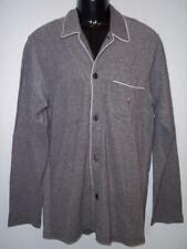 Polo Ralph Lauren Pajama Top Shirt Long Sleeve Nightshirt Black/White Men's M