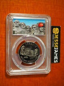 1991 S 50C PROOF MOUNT RUSHMORE HALF DOLLAR PCGS PR70 DONALD TRUMP MAGA LABEL
