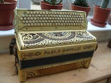 More details for vintage paolo soprani 140 button accordion