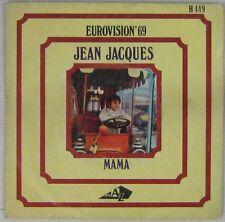 Jean-Jacques 45 Tours Eurovision 1969 Espagne