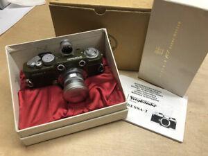 Used Voigtlander Bessa T 101 Camera Years Olive + Heliar F3.5 50mm Lens