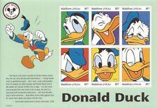 Maldives 1999 Donald Duck 6 Stamp Sheet Scott #2353 13E-468