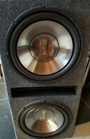 Infinity 12in Subwoofers With Box