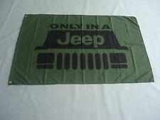 2017 New Flag for Jeep Racing Car Racing Banner Flags 3x5ft free shipping