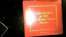 GOLDEN REPLICAS OF THE 1984 US OLYMPICS 1984 FDC COLLECTION IN ALBUM