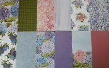 """Stampin up ✿ Designerpapier DSP Hortensienpark ✿ 15,2 x 15,2 cm 6"""" x 6"""" Blüten"""