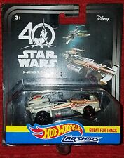 2017 Hot Wheels Disney Star Wars 40th X-Wing Fighter Carships Celebration NEW!!!