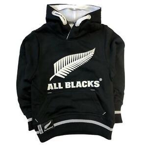 New Zealand All Blacks Kids Over Head Hoodie | Black | 2019/20 Season