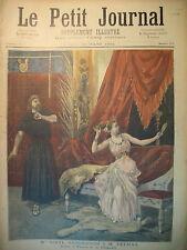 OPERA THAÏS SANDERSON   ATTENTAT ANARCHISTE A LA MADELEINE LE PETIT JOURNAL 1894