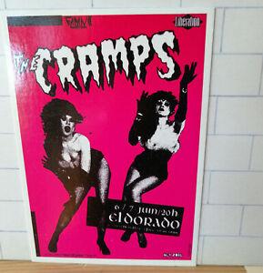 Vintage original THE CRAMPS postcard - ELDORADO - Underground U191
