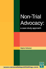 Non-trial Advocacy: A Case Study Approach-ExLibrary
