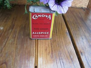 CANOVA Allspice Very Sharp Memphis Old Spice Tin