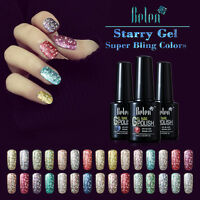 Belen Starry Gel Nail Polish Soak Off UV LED Glitter Super Bling Manicure 10ML