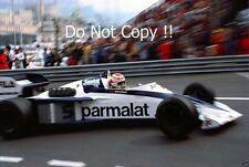 Nelson Piquet Brabham BT52 Monaco Grand Prix 1983 Photograph 5