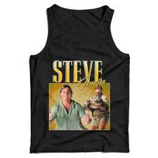 Steve Irwin Appreciation Ladies Vest Tank Top - Crocodile, Alligator, Australia