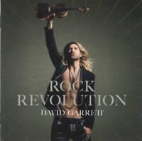 DAVID GARRETT - ROCK REVOLUTION (2017) CD Jewel Case+FREE GIFT Bongartz Man Doki