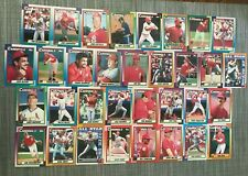 1990 ST LOUIS CARDINALS Topps COMPLETE Baseball Team Set 33 Cards SMITHx2 ZEILE!
