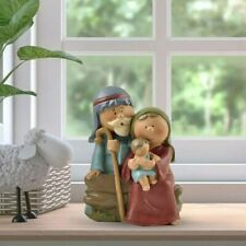 More details for christ birth of jesus ornament gifts nativity scene crafts resin christmas...