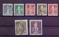 Berlin 1949 - UPU Stephan - MiNr. 35/41 rund gestempelt - Michel 320,00 € (109)