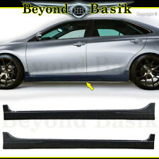 For 2015 2016 2017 TOYOTA CAMRY Side Skirts Body Kit 2Pc set Add-on Side skirts