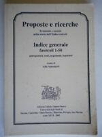 Indice generale proposte ricerche economia società storia italia centrale temi