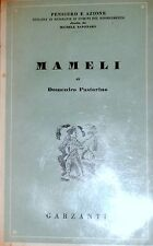 DOMENICO PASTORINO MAMELI GARZANTI 1946