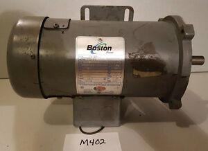 Boston / Fincor 1/2 HP Motor, PM950TF, 5 Amp, Used, M402