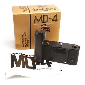Nikon MD-4 Motorantrieb Motor Drive für Nikon F3 #257083