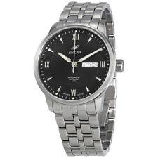 Enicar Elite Black Dial Automatic Mens Watch 3168/50/351AB