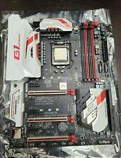 Intel I7 6700k CPU Motherboard Combo Gigabyte z170x-Gaming7 -- excellent !!