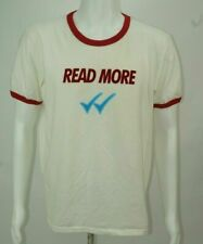 Retro Men Pull And Bear T Shirt Read More White Red Size Large