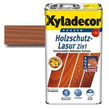 (13,98€/1l) Xyladecor® Holzschutz-Lasur 2 in 1 Teak 2,5 l Holzlasur Lasur