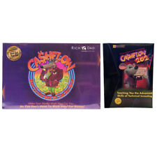 CASHFLOW 101 & 202 Board Game by Rich Dad Free Express Shipping