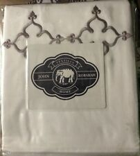 NEW JOHN ROBSHAW QUEEN DUVET DOVE-WHITE 100% COTTON