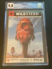 Wild Storm #8 CGC 9.8-NM-1st print-Warren Ellis-Jon Davis Hunt-DC/Wildstorm