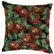 10% Off Permin Hand-painted Needlepoint Kit - Apples Pillow #83-5138