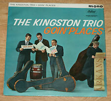 THE KINGSTON TRIO GOIN' PLACES 1961 UK LP CAPITOL T-1564