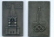 Gertbrolen Russie Médaille Aluminium  Jeux Olympiques Clocher Place Rouge 1680