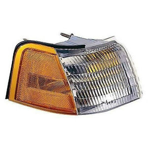 DEPO 3311552RUS Right Signal Parking Light Assembly 89-95 Cougar/Thunderbird