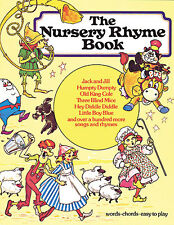 The Nursery Rhyme Book Learn to PLAY Childrens Piano Guitar PVG Music Book EASY