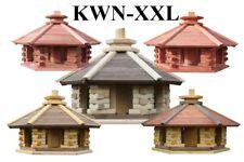 VOGELHAUS aus Holz Typ KWN - Größe XXL, Futtersilo,Nistkasten, mehrere Farben,