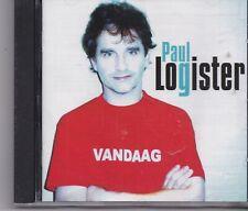 Paul Logister-Vandaag cd album