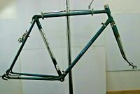 Follis Road Bike Frame 58 Vintage French 70s Lugged Steel Fixed L'roica Charity!