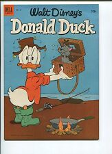 Donald Duck #29 8.5 Vf+ Fishing Cover! Check It Out!